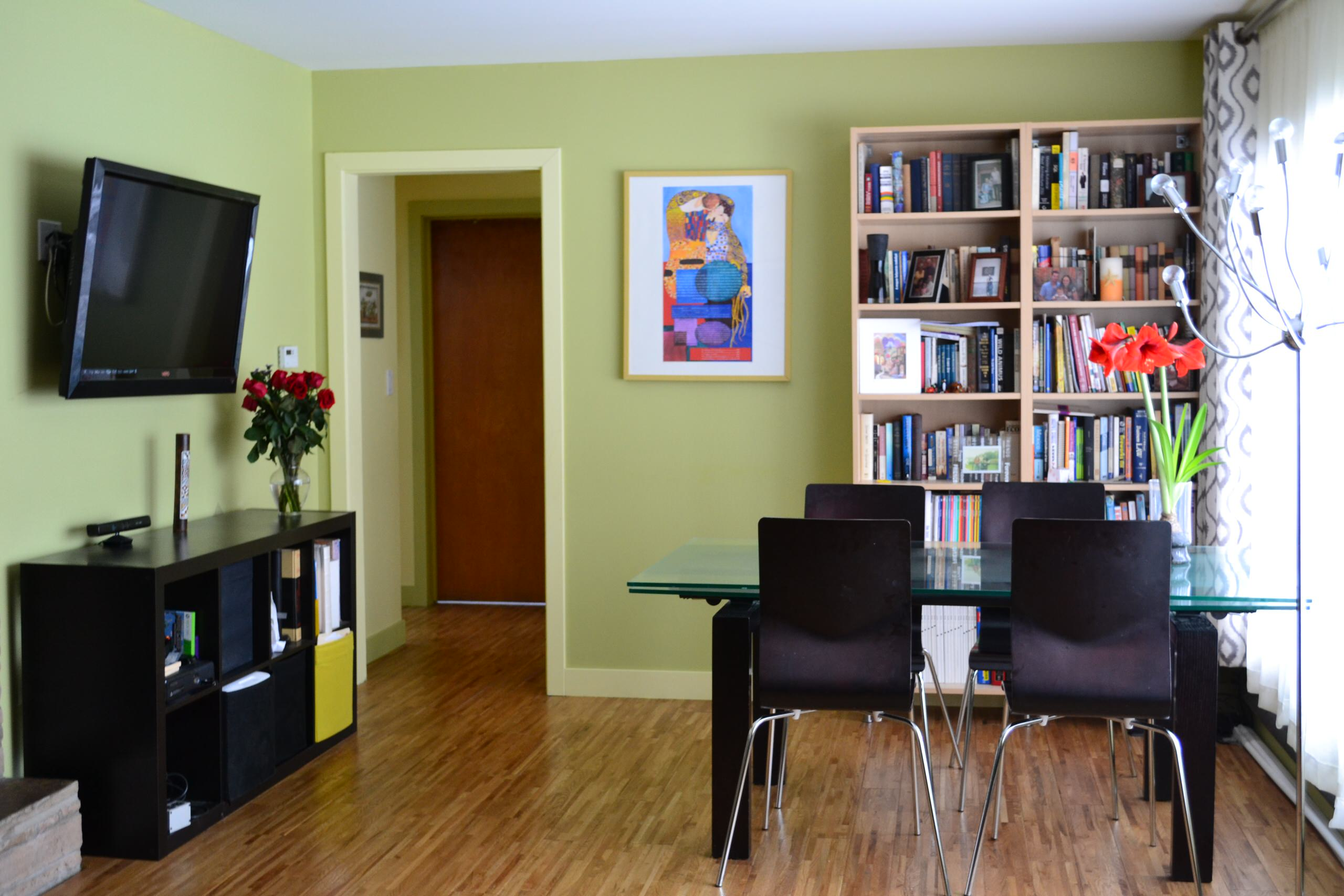 Small Spaces: Living - Dining Room