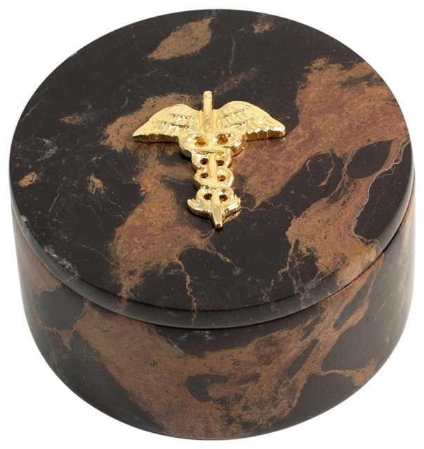 "Round Decorative Boxes: ""Medical"" Round Box"