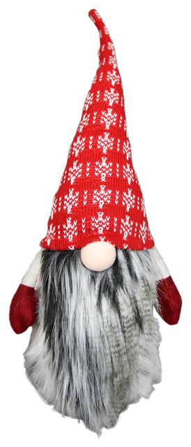 "Standing Holiday Gnome ""valdemar""."