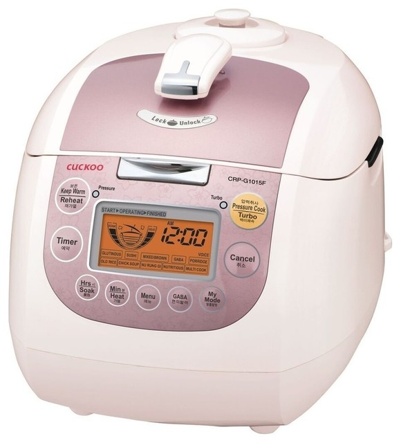 Cuckoo Electric Heating Pressure Rice Cooker Crp-G1015f.