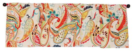 Covington Whimsy Paisley Curtain Valance