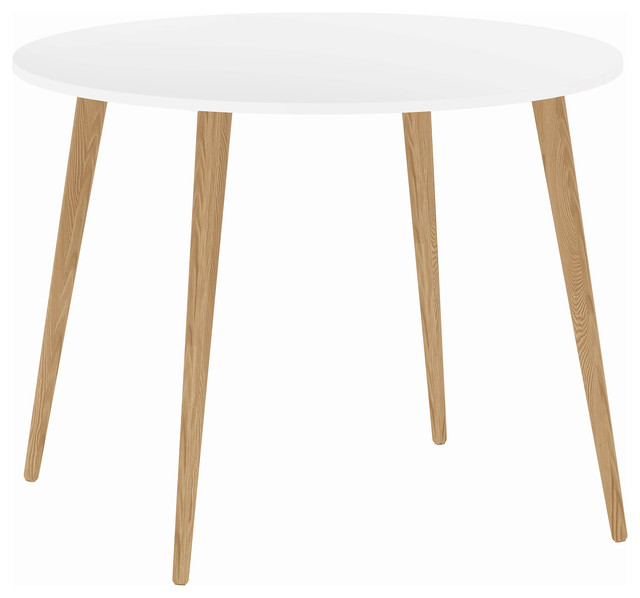 Diana Round Dining Table Midcentury Dining Tables by Tvilum