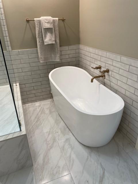 Roswell Master Bath