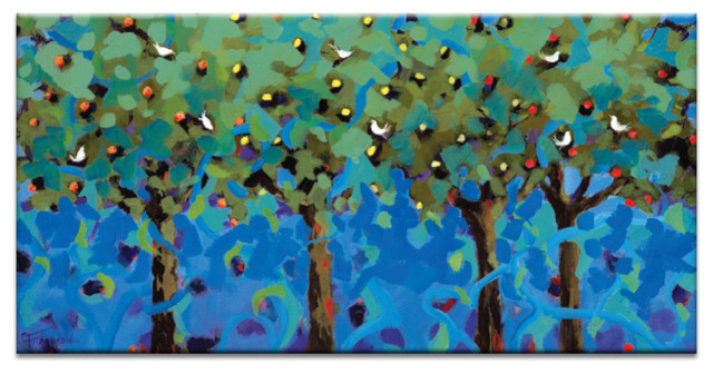 The Orchard, Canvas Print.