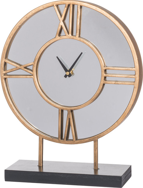 Kenzo Table Clock   Contemporary   Desk And Mantel Clocks   By HedgeApple