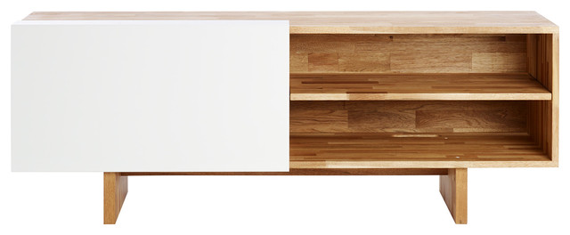 MASHstudios LAX Series Entertainment Shelf - Entertainment Centers And Tv Stands | Houzz