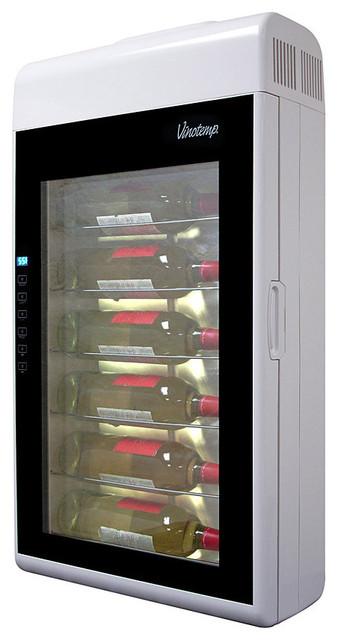 Vinotemp Vinotemp 6 Bottle Wall-Mounted Wine Cooler - Beer And Wine Refrigerators | Houzz