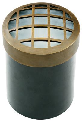 Die Cast Brass Antique Bronze LV Well Light LV-45