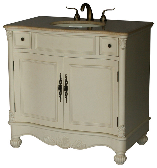 36 Inch Antique Style Single Sink