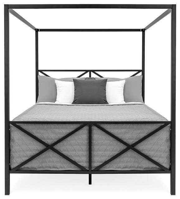 Queen Size 4 Post Canopy Bed Frame