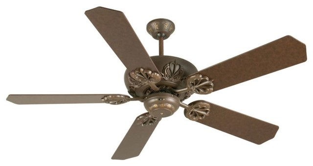 Craftmade K10902 Cordova 52 5-Blade Energy Star Indoor Ceiling Fan, Aged Bronze.