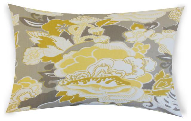 Rosemarie Lumbar Throw Pillow