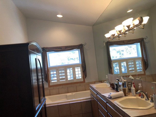 Log Hill Master Bath redo
