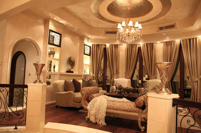 Regal Palace - Traditional - Living Room - Miami - by Perla Lichi ...