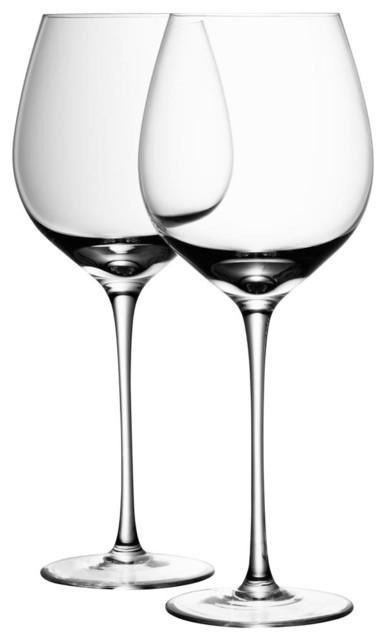 LSA International Wine Red Wine Glasses - Set of 4