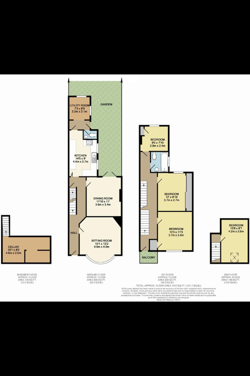 4 Bed Home Design Part - 45: Prou0027s And Conu0027s For Converting A 4 Bed House To A 3 Bed + Ensuite?