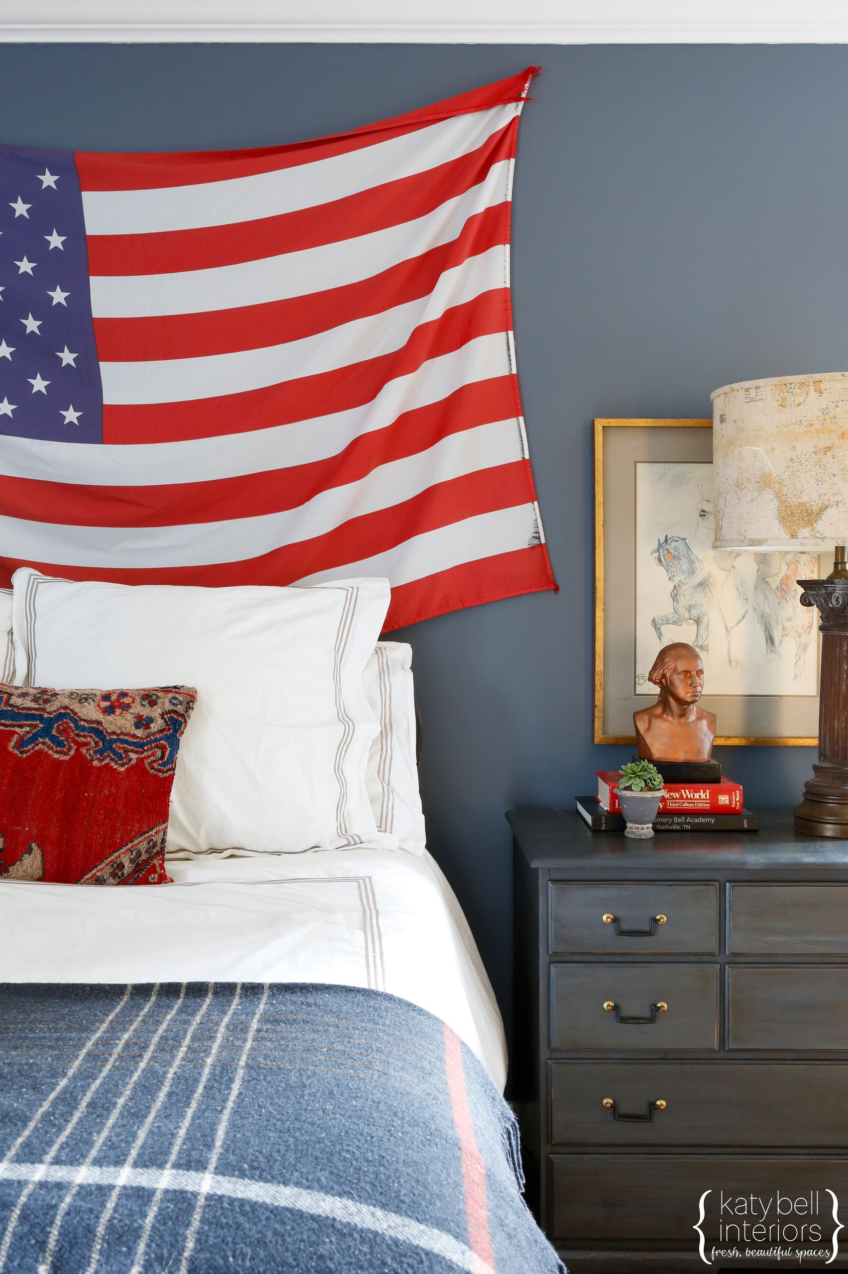 Americana Boys Bedroom
