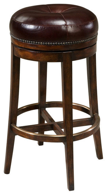 English Georgian America Victorian Swivel Bar Stool Bar