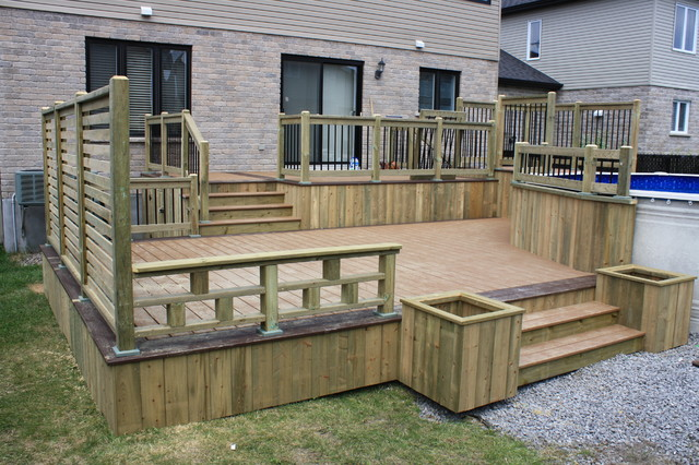 U0026how To Build Your Deck... Contemporary Patio