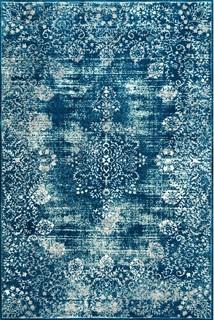 Traditional Vintage Area Rug, Blue, 8'x10'