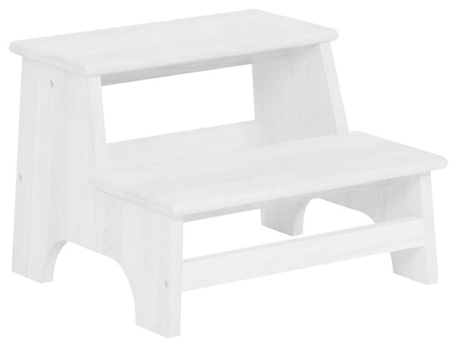 Peachy Tyler Bed Step White Ocoug Best Dining Table And Chair Ideas Images Ocougorg