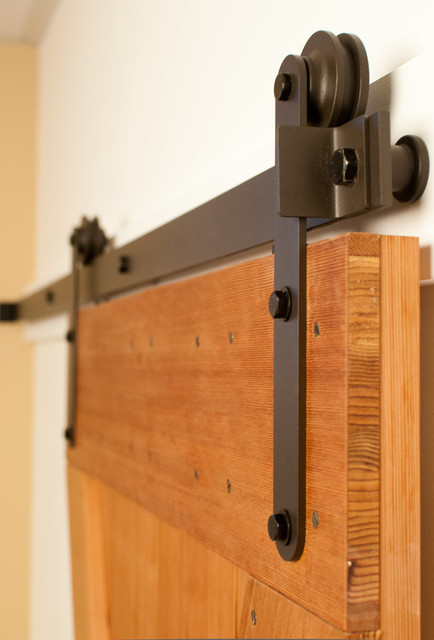 Prop Barn Door Hardware Kit Modern Style Rustic By Real Carriage Sliding