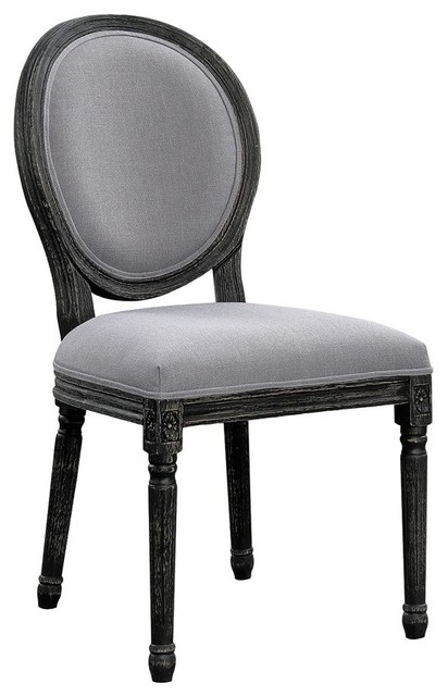 Rochell Oval Back Dining Room Chairs Set of 2  sc 1 st  Houzz & Rochell Oval Back Dining Room Chairs Set of 2 - Traditional ...
