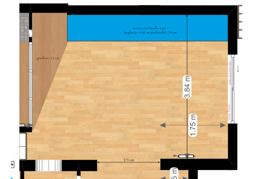 Consiglio per isola cucina - forma e dimensioni