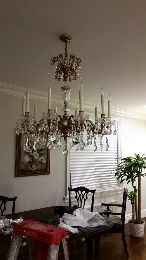 Is This Chandelier Size And Height Okay For My Room