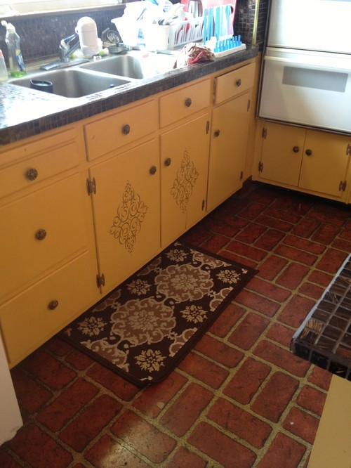 To paint or not to paint the kitchen floor