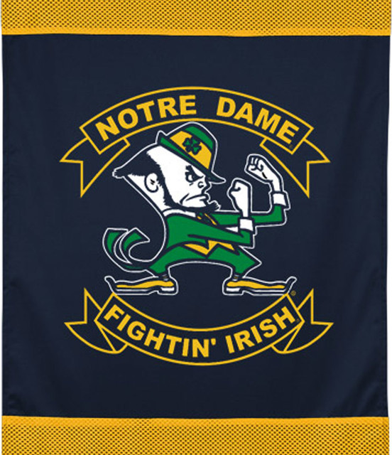 Ncaa Notre Dame Fighting Irish Football Wall Hanging