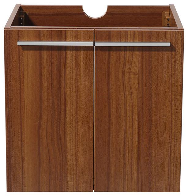 Fresca Alto Teak Modern Bathroom Cabinet.