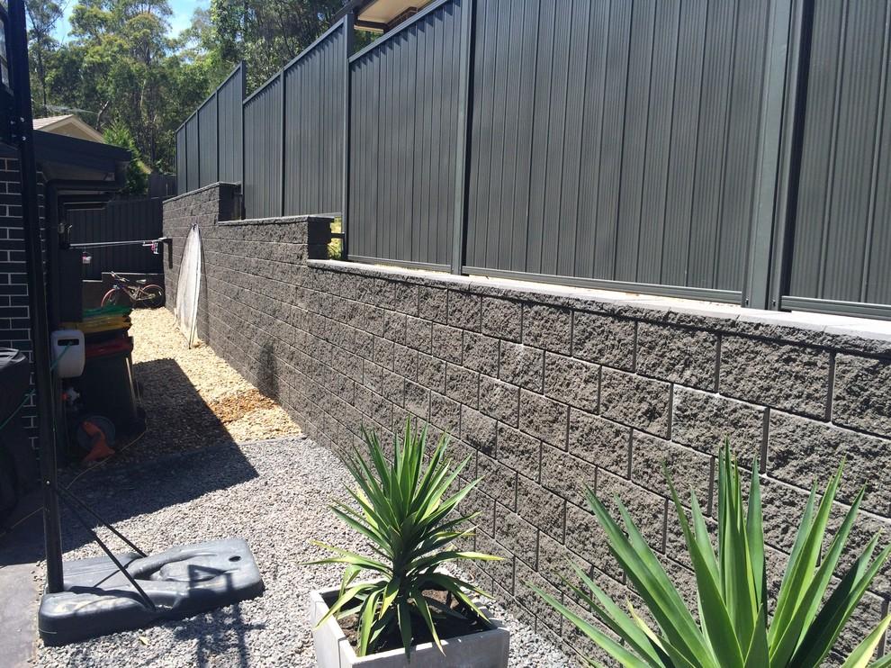 Spectacular retaining wall