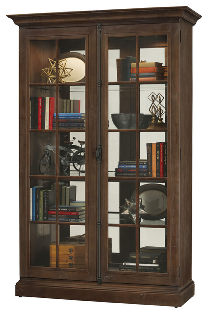 Howard Miller Clawson Display Cabinet - Beach Style ...