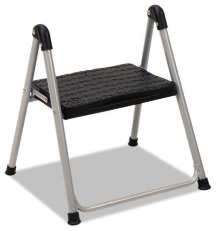 Cosco Folding Step Stool 1 Step 200lb 9 9 10 Quot Working