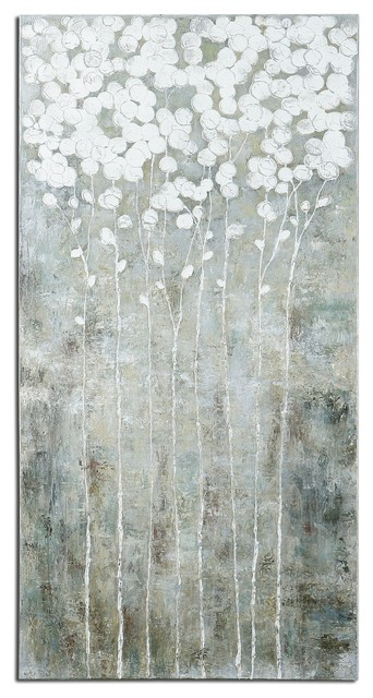 Uttermost Cotton Florals Wall Art.