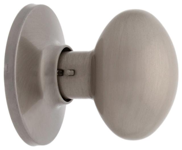 Genial Miseno MHDW400BAK SN Dummy Egg Shape Door Knob Set Satin Nickel
