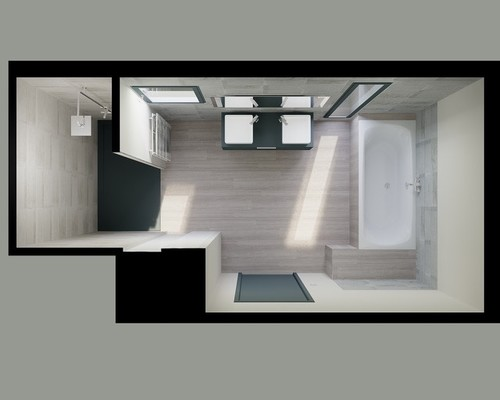 Votre avis sur notre salle de bain en 3d for Plan de salle de bain 3d