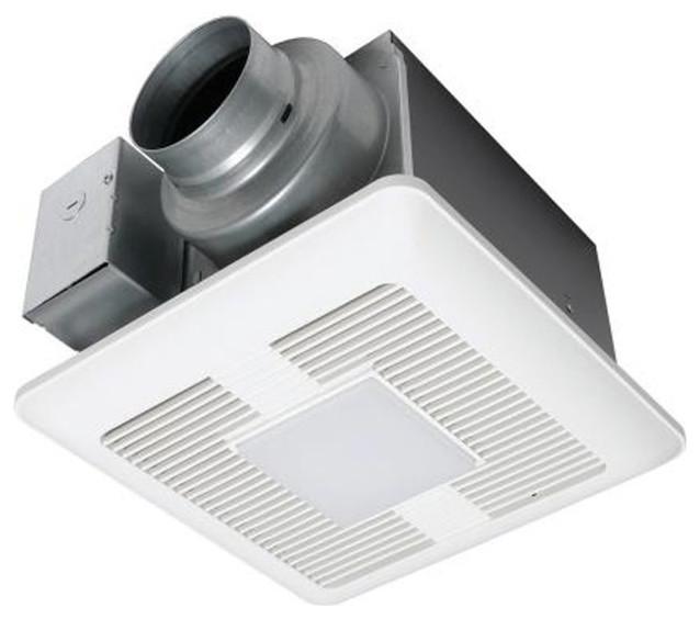 Panasonic 50-80-110 Cfm Ceiling Mount Led Lit Exhaust Fan, Fv-0511vql1.