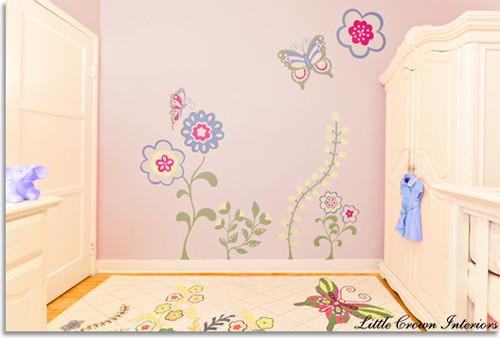 Pink Butterfly Nursery kids