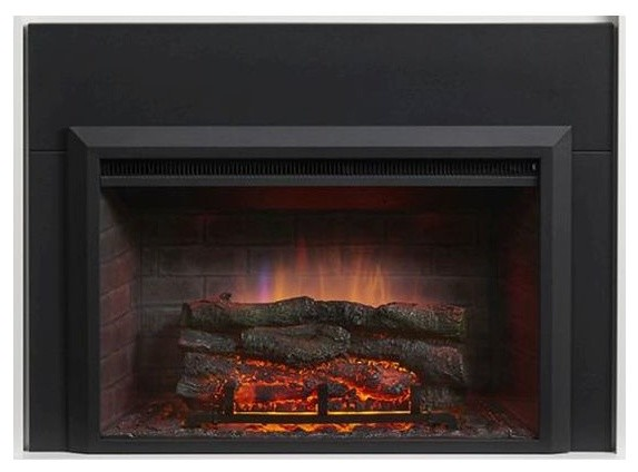 29 Electric Fireplace Insert Contemporary Outdoor