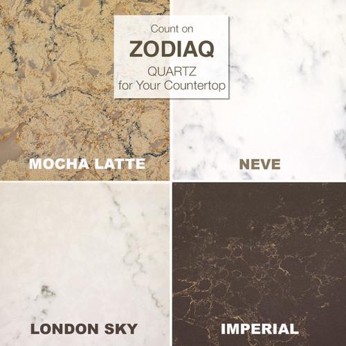 4 Of Our MOST Popular Zodiaq Quartz Colors. See More Colors:  HttpS://www.kitchenmagic.com/kitchen Countertops/quartz/zodiaq/colors