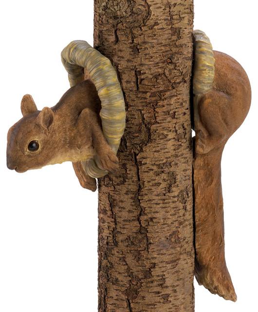 Woodland Squirrel Tree Decor