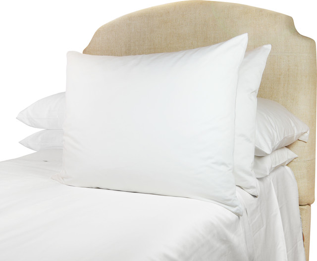 600tc European Sleep System Euroking Sham White