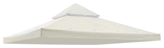 2-Tier Gazebo Top Canopy Replacement, Ivory.