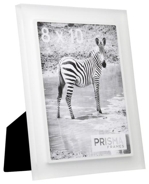 Snow White Prisma Acrylic Picture Frame Contemporary Picture