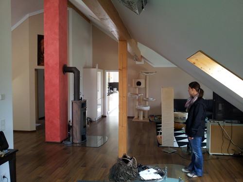 Suche idee für umgestaltung wohn /esszimmer & kamin