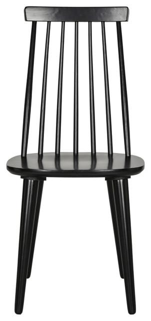 Safavieh Burris Spindle Side Chair, Set Of 2, Black