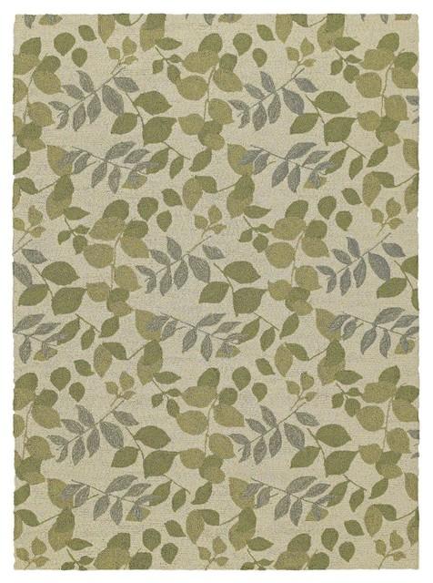 Indoor outdoor hnp 2 39 x3 39 rectangle linen area rug for Indoor outdoor rugs uk