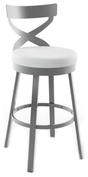 Sculpted Back Swivel Counter Stool 26  modern-bar-stools-and-  sc 1 st  Houzz & Sculpted Back Swivel Stool - Modern - Bar Stools And Counter ... islam-shia.org